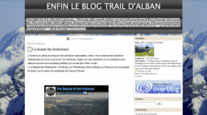 Le Blog Trail d'Alban